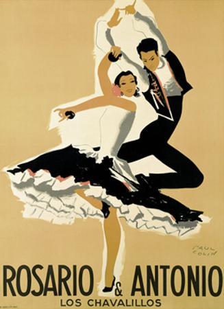 Rosario & Antonio, 1949 by Paul Colin