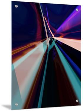 Abstract Color Streaks by Paul Cooklin