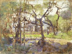 Farmyard, Gloucester by Paul Cornoyer