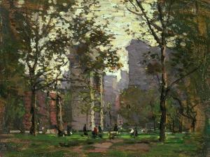 Washington Square, New York by Paul Cornoyer