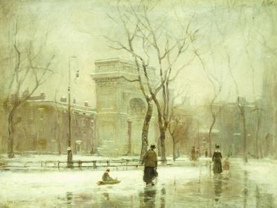 Winter in Washington Square