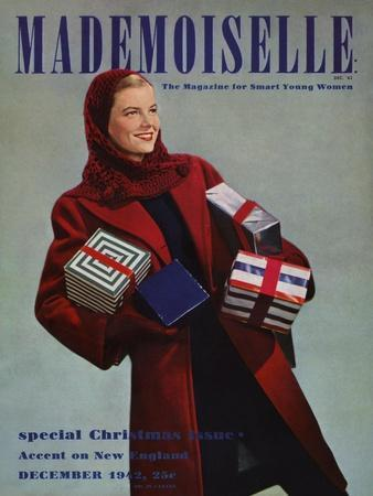 Mademoiselle Cover - December 1942