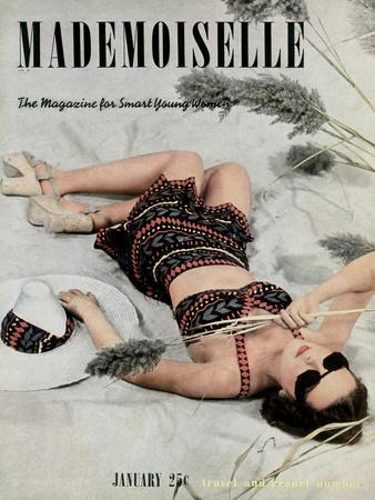 Mademoiselle Cover - January 1938