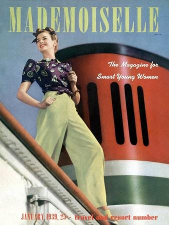 Mademoiselle Cover - January 1939