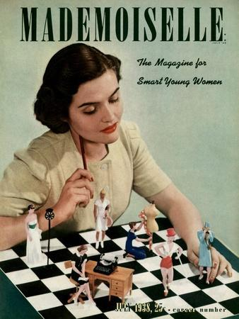 Mademoiselle Cover - July 1938