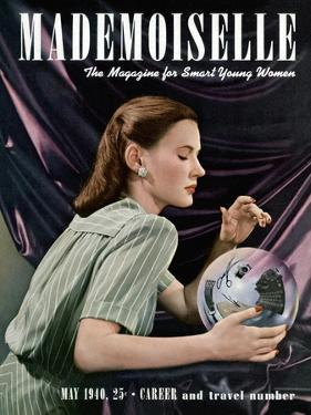 Mademoiselle Cover - May 1940 by Paul D'Ome