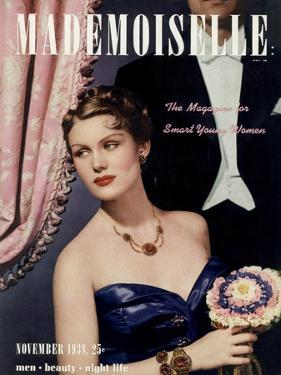 Mademoiselle Cover - November 1938 by Paul D'Ome