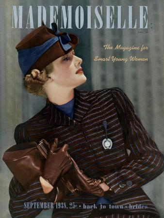 Mademoiselle Cover - September 1938