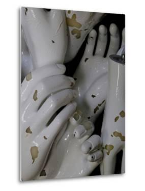 A Box Full of White Mannequin Hands in an Antique Shop by Paul Damien