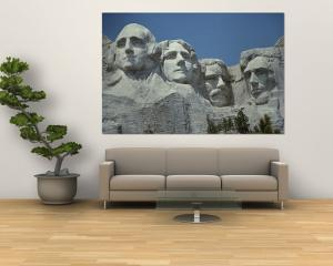 A Close View of Mount Rushmore by Paul Damien