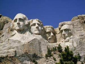 A Tourists Eye View of Mount Rushmore National Monument by Paul Damien