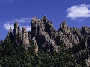 Rugged Peaks of 'The Needles' by Paul Damien