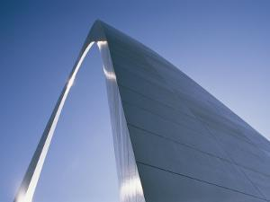 Skyward View of the Gateway Arch by Paul Damien