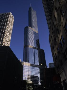 Trump Tower and Other Chicago Buildings by Paul Damien