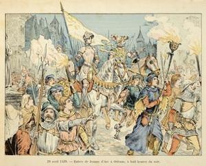 Entry of Joan of Arc into Orleans on April 29, 1429 by Paul de Semant