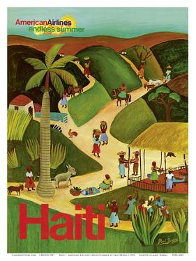 Haiti - Haitian Village - American Airlines Endless Summer by Paul Degen