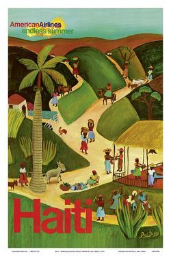 Haiti - Haitian Village - American Airlines Endless Summer by Paul Degen