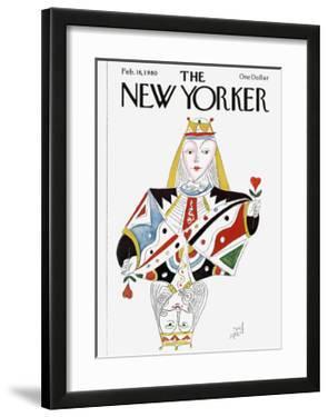 The New Yorker Cover - February 18, 1980 by Paul Degen
