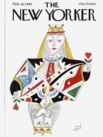 The New Yorker Cover - February 18, 1980