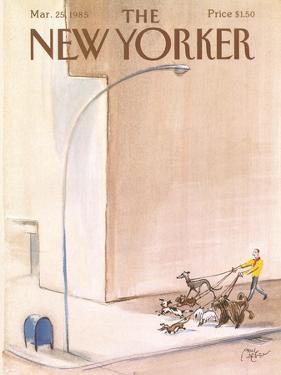 The New Yorker Cover - March 25, 1985 by Paul Degen