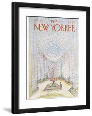 The New Yorker Cover - March 5, 1979 by Paul Degen