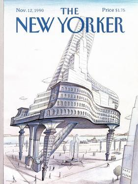 The New Yorker Cover - November 12, 1990 by Paul Degen