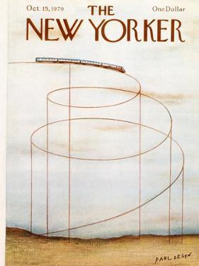 The New Yorker Cover - October 15, 1979 by Paul Degen