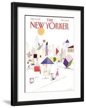 The New Yorker Cover - September 14, 1981 by Paul Degen