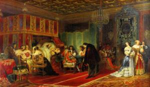 Le Cardinal Mazarin Mourant, 1830 by Paul Delaroche