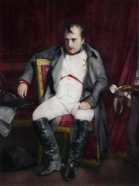 Napoleon at Fontainebleau During the First Abdication by Paul Delaroche