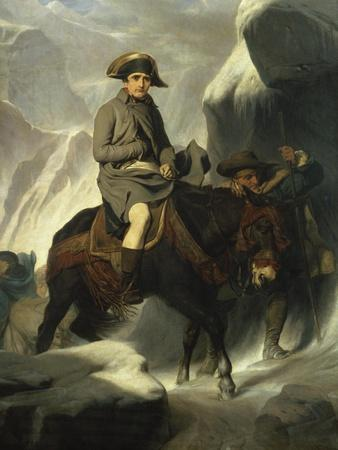 Napoleon Crossing the Alps, 1848