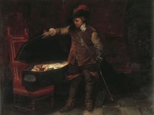 Oliver Cromwell by Paul Delaroche