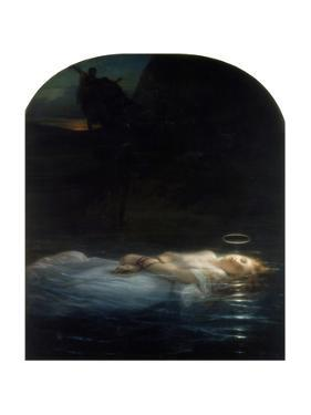 The Young Martyr, 1855 by Paul Delaroche