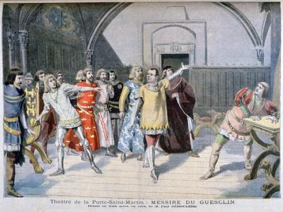 Messire Du Guesclin, Théâtre De La Porte Saint-Martin, 1895