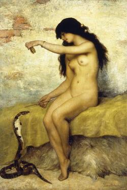 The Snake Charmer by Paul Desire Trouillebert