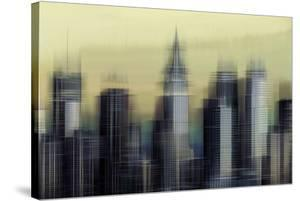 New York Abstract by Paul Duncan