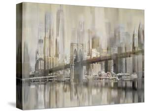 NY Cityscape Castleton Bridge by Paul Duncan