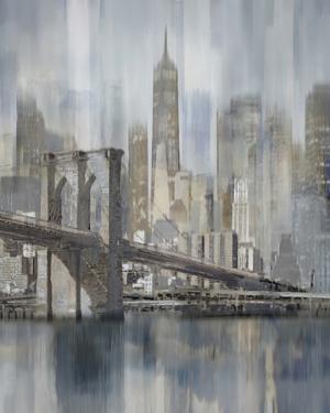 NY Cityscape Hudson River Haze by Paul Duncan