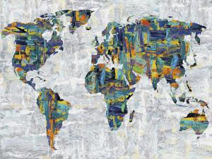 Painted Colour Map by Paul Duncan