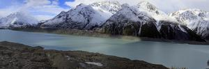 Mueller Glacier at the Head of the Kea Point Track, Mt. Cook National Park, New Zealand by Paul Dymond