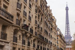The Streets of Paris are Home to Many Intricately Designed Balconies and Balustrades by Paul Dymond