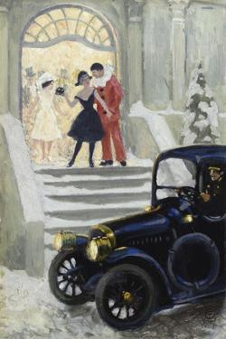 After the Ball, 1917 by Paul Fischer