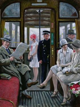 Copenhagen Tram by Paul Fischer