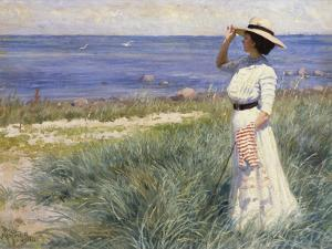 Looking Out to Sea, 1910 by Paul Fischer