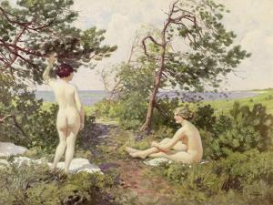 The Bathers by Paul Fischer