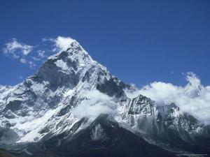 Ama Dablam Mountain, Khumbu Region, Nepal by Paul Franklin