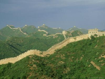 Great Wall of China, Beijing, China by Paul Franklin