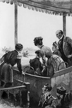 Anna Karenina - by Paul Frenzeny