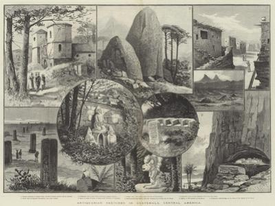 Antiquarian Sketches in Guatemala, Central America