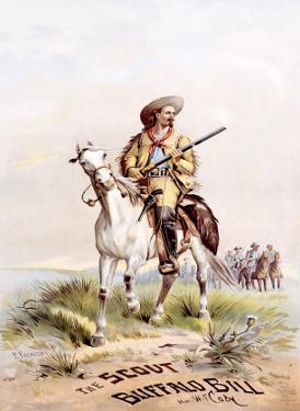 Buffalo Bill's Wild West, The Scout by Paul Frenzeny
